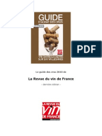 Guide Crus RVF 2010
