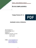 DISEÑO DE COMPILADORES I