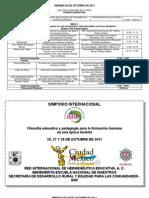 Programa Final Del III Simposio RIHE 2011