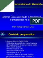 Aula 1 SUS e Assis+¬ncia Farmac+¬utica no SUS pdf