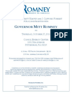 Romney Pittsburgh Save the Date