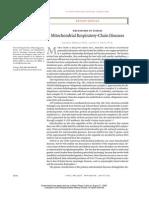 Seminario 6 Mitichondrial Respiratory Chain Diseases