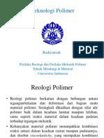 Perilaku Reologi&Mekanik Polimer