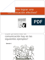 Como Lograr Una Comunicacion I