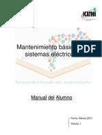 Manual Mantenimiento Basico de Sistemas Electricos Actopan