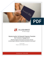 Buying Loyalty Program White Paper