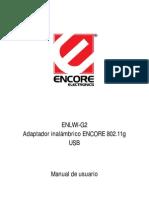 ENUWI-G2 Manual Spanish