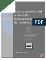 Plutonio y Su Impacto Ambiental