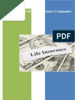 Ratio Analysis of Life Insurance Companies in Bangladesh