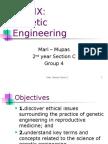 Genetic Engineering c4