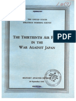 USSBS Report 69, The Thirteenth Air Force in the War Against Japan