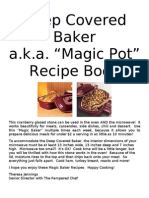 2011 Baker Cookbook