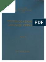USSBS Report 72, The Interrogations of Japanese Officials, V1