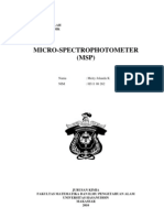 Micro Spectrophotometry