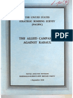 USSBS Report 75, The Allied Campaign Against Rabaul