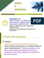 Cellular Precipitation