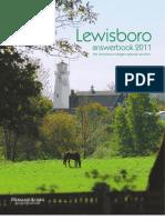Lewisboro Answerbook 2011 | Hersam Acorn Newspapers