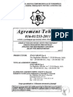 Certificate - Agrement