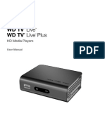 WD TV Live_WD TV Live Plus HD Media Player User Manual