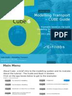 Modelling Transport - Cube Guidebook