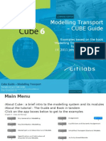 Modelling Transport - Cube Guidebook