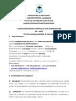 ImprimirSYLLABUS Teoria de Comunicion UPT