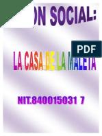 Razon Social y Logotipo