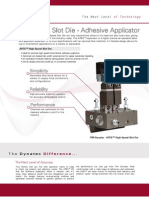 APEX Slot Die Adhesive Applicator