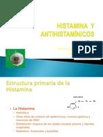 ANTIHISTAMINICOS e Histamina