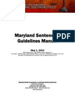 Maryland Sentencing Manual