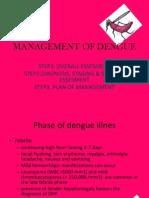 Management of Dengue
