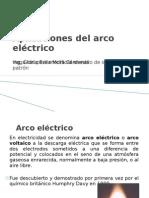 Aplicaciones del arco eléctrico