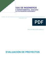 Evaluación de Proyectos2