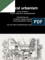 Tactical Urbanism | Dreamhamar's online workshop | Session 01