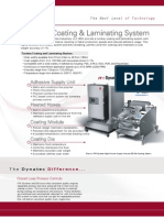 EDI Precision Coating and Laminating System