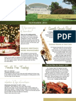 Hannibal Country Club November Newsletter