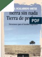 Libro Scalabrini Ortiz - Tierra Sin Nada, Tierra de Profetas.
