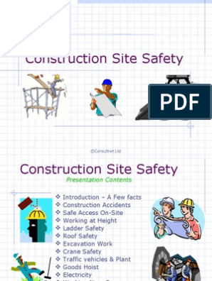 Construction Site Safety Personal Protective Equipment Safety