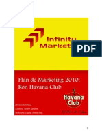 Plan de Marketing 2010 Ron Havana Club Chile