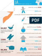 UNICEF Results in Somalia Infographic