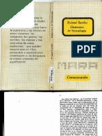 Elementos de Semiologia Roland Barthes