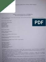 Verbale Riunione Assessor a To 25 Ottobre 2011