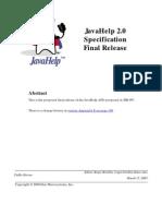 JavaHelp V2 0 Specification