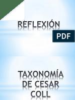 Taxonomia de Cesar Coll