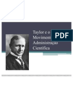 Taylor e a Administração Científica