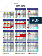 Calendario 2011_2012 - CEIP José Ortega Valderrama de Pradejón