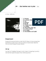 13 - Info Pochette