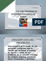 Sistema de Invent a Rio Por Codigo de Barras Jorge Ramirez