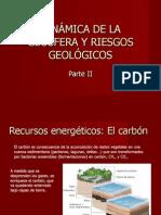 Recursos de a Geosfera. Impactos Asociados