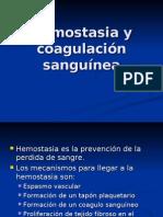 Hemostasia y coagulación sanguínea
